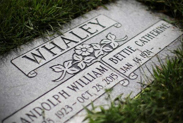 Mile High Memorials | Custom Stone Flats | Denver, Colorado