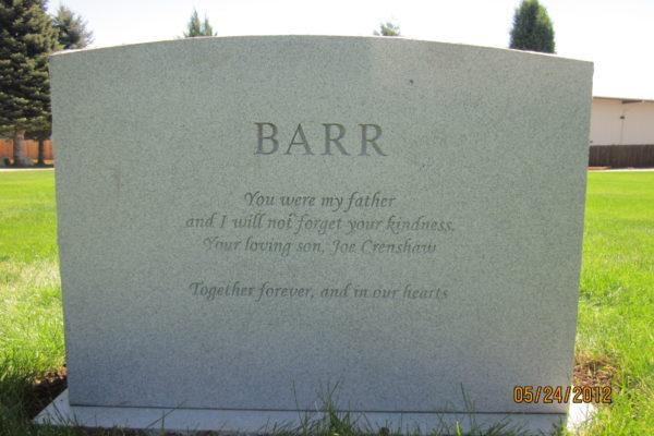 Barr back