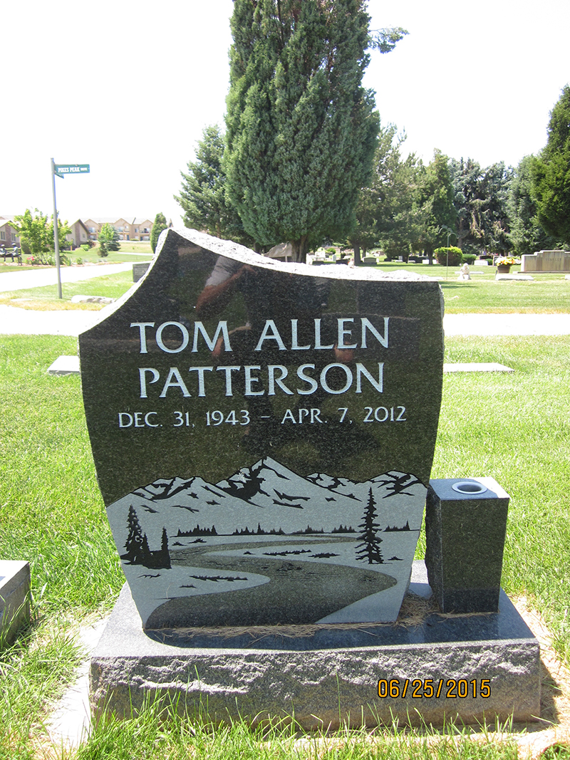 Denver Memorial Gallery Custom Headstones Monuments And Memorials Mile High Memorials