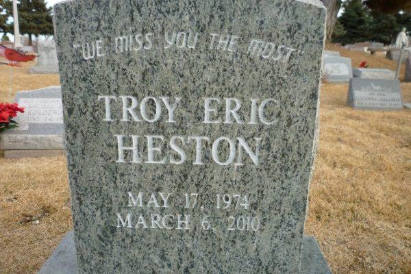 Heston front