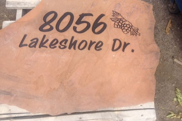 Lakeshore sign