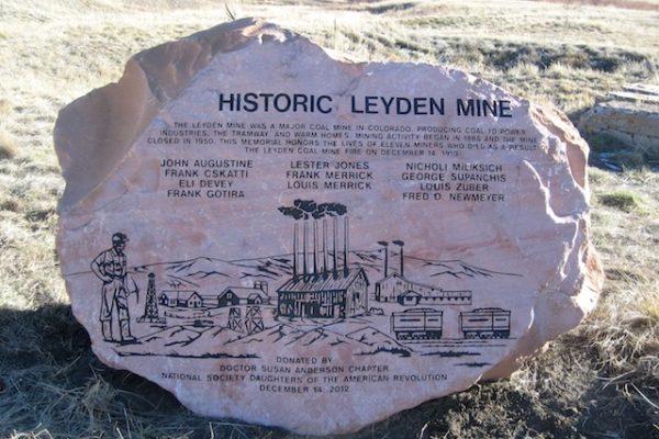 Leyden Mine Boulder