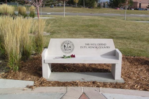 Army Memorial Bench | Veterans Monuments | Mile High Memorials | Denver CO