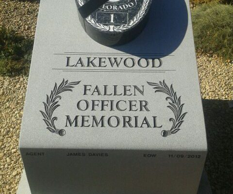 Lakewood Fallen Officer Memorial | Civic Monuments | Mile High Memorials | Denver CO