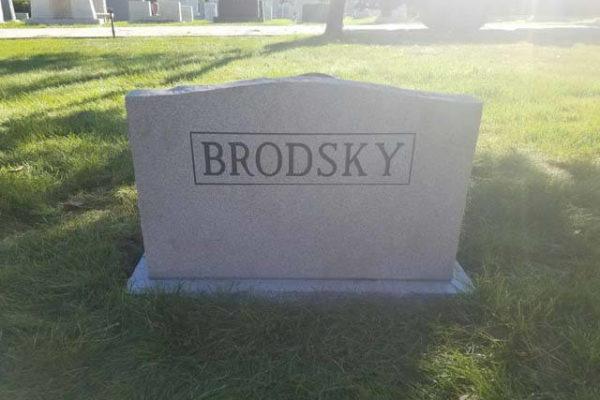 Brodsky Back