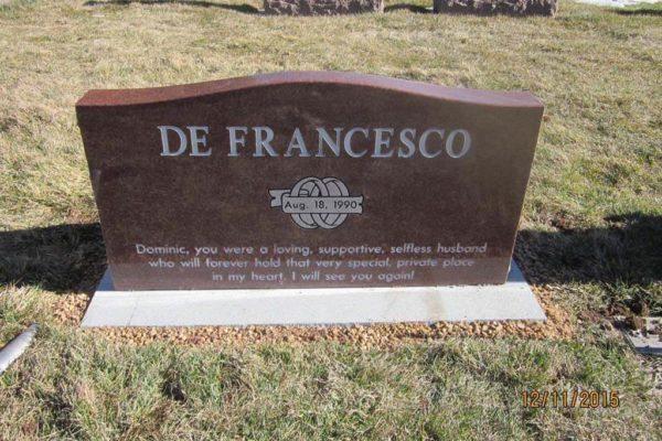 DeFrancesco back
