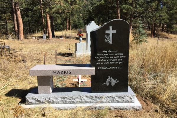 Harris back