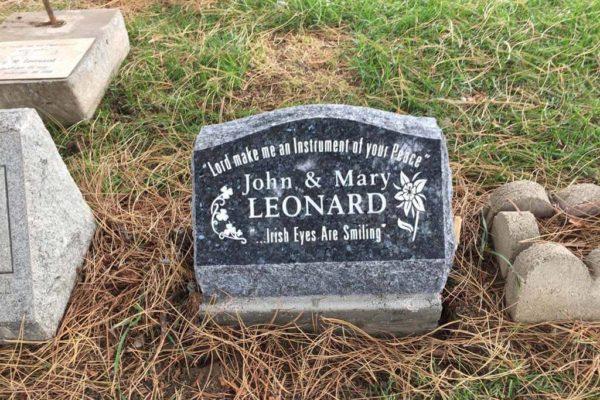 John and Mary Leonard