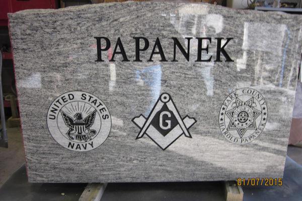 Papanek back
